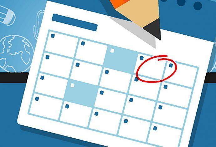 Event Calendar Background